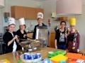 Meppel 24 mrt 2017:  Scholieren bakten ze bruin in Meppel