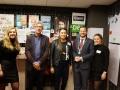 Meppel 8 mrt 2017: Drenthe College met scholierenverkiezingen en burgemeester en politici op visite
